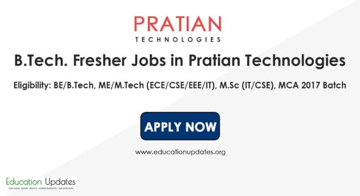 BE/B.Tech, M.E/M.Tech M.Sc/MSc Fresher Jobs in Hyderabad