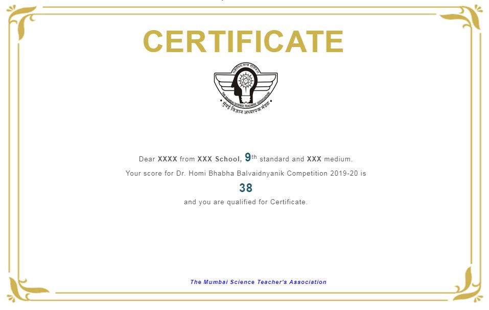 Homi-Bhabha-Balvaidnyanik-Result-Sample-Certificate