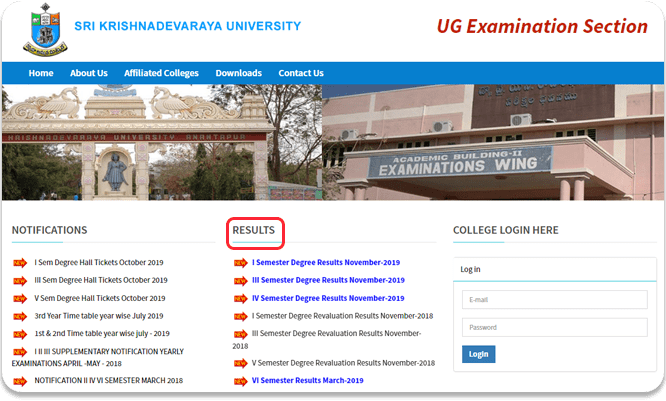 Sri-Krishnadevaraya-University-Degree-Results