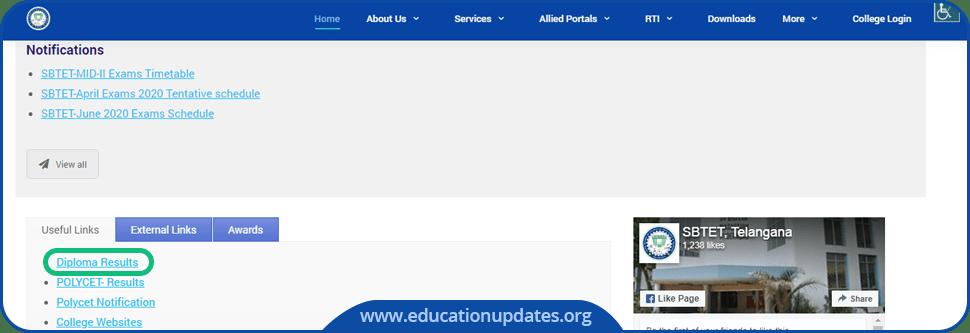 TS-SBTET-Diploma-Results