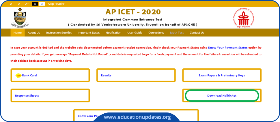 AP-ICET-Admit-Card