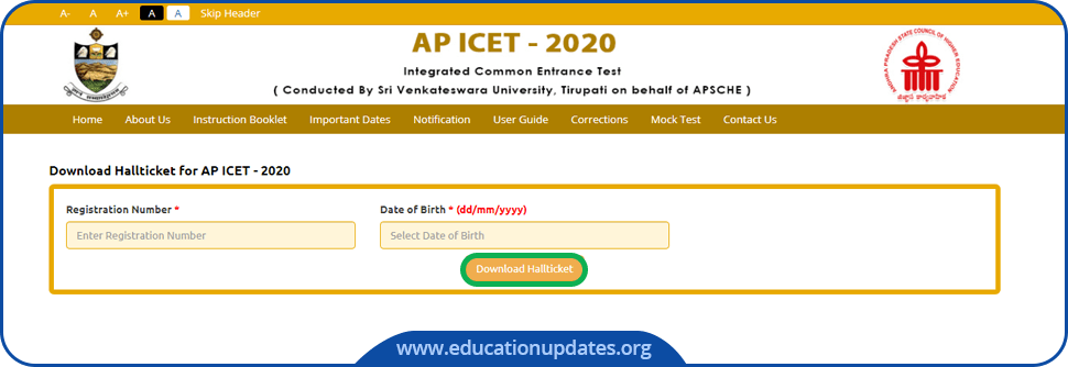 AP-ICET-Hall-Ticket-Download-2020