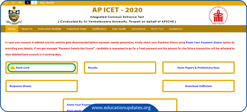 AP-ICET-Rank-Card-2020