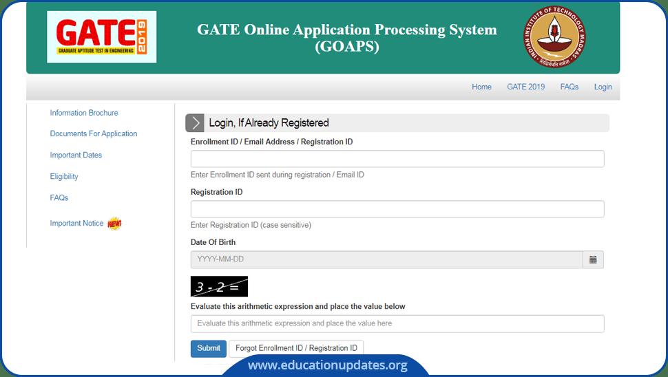 GATE-Hall-Ticket-Admit-Card
