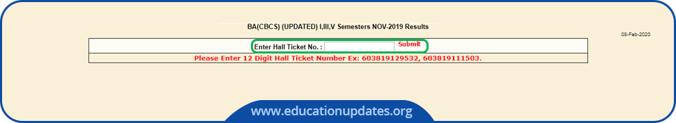 OU Degree Results Download