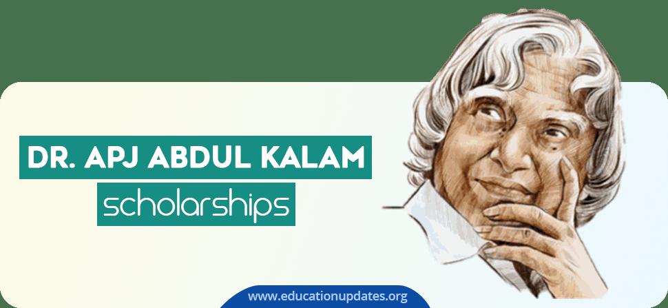 Dr. APJ Abdul Kalam Scholarship-2020