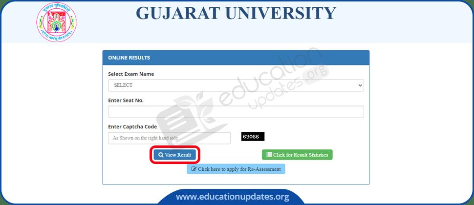 Gujarat University Result