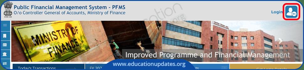 PFMS Registration