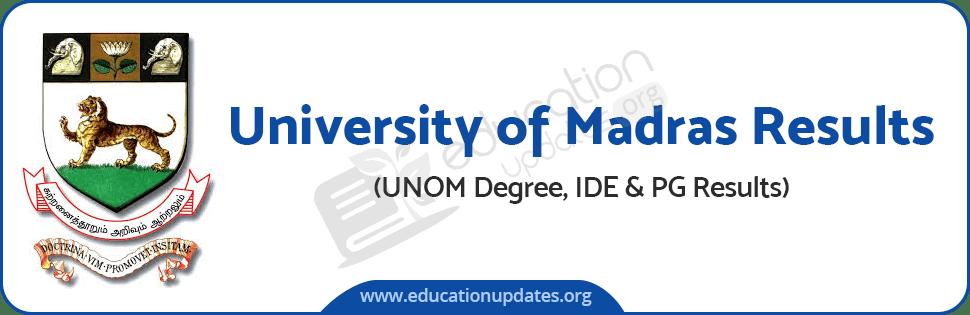 UNOM Results